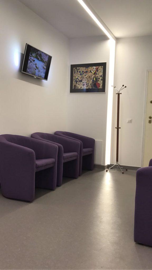 Hol asteptare - Clinica Smart